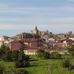 Cáceres: alzado norte