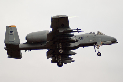 Airplane picture - USAF A-10 Thunderbolt II - 81-0965