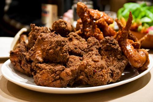 ... : Two Chicken Meals: Momofuku Fried Chicken and Pio Pio Salon