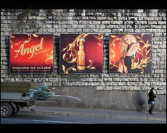 Miss Angel ... and christmas trees (Dreamer7112) Tags: people angel ads advertising schweiz switzerland nikon publicidad suisse suiza cardinal candid zurich ad streetphotography billboard advertisement explore sua billboards zrich christmastrees werbung svizzera advertisements zuerich publicit reklam publicidade pubblicit d300 acrossthestreet zurigo  streetcatch missswitzerland werbeplakat werbeplakate christarigozzi missschweiz rigozzi nikond300 clipcook misssvizzera christmasmustbenear misssvizzera2006