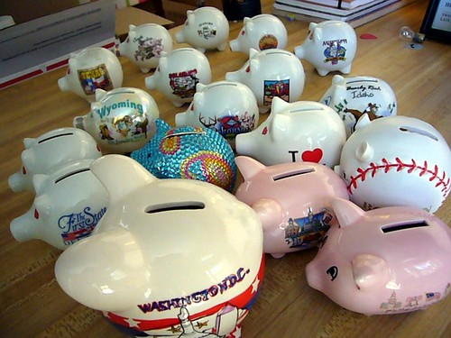 Ceramic Pig Collection