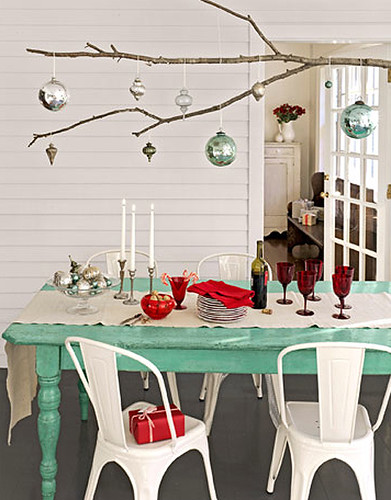 * d a a n * 拍攝的 christmas table setting by sweet paul。