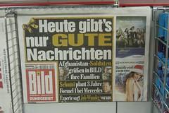 B*ld-Schlagzeile »Heute nur gute Nachrichten« (2009)