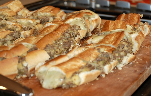 Sausage Stuffed Bread