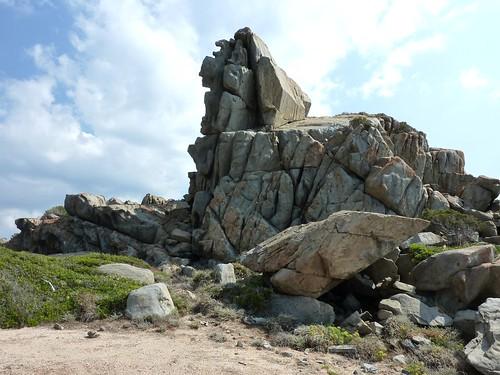 Le rocher du Capu Neru
