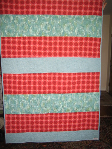 Out of Line quilt back
