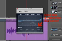 GarageBand EQ analyzer :)
