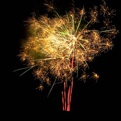 Happy New Year - 23 minutes into 2010 (SteenT) Tags: 50mm fireworks newyear steentalmark talmark project1050 fotokonkurrencerdkuge532009
