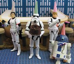 Happy Birthday She-Ruler!!! (Explored) (slidercleo) Tags: birthday party cake toy actionfigure starwars r2d2 stormtrooper stormtrooperlegionofmerit sheruler tk027 tkhan tklike