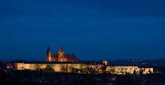 Prague Castle (Mike Bpunkt) Tags: old light castle history emblem licht view czech prague alt prag praha landmark historic blueho