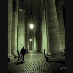 later than you think (gicol) Tags: light shadow italy vatican rome roma dark italia pavement amor ombra columns sombra vaticano walker bernini luce lazio buio colonne artificiallight piazzasanpietro pavimento saintpeterssquare colonnato passante luceartificiale plazasanpedro topseven theauthorsclub