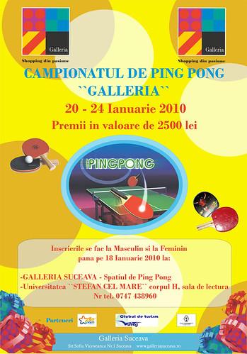 20-24 Ianuarie 2010 » Campionatul de ping-pong Galleria