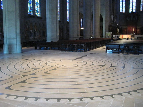 Grace Cathedral Labyrinth