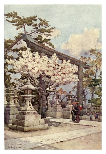 009-Cerezo blanco en Kitano-The flowers and gardens of Japan (1908)-  Ella Du Cane