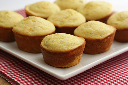 Chile Cheese Corn Muffins