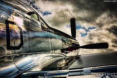 Shine (~Clubber~) Tags: airplane aviation kitchener airshow waterloo ww2 mustang p51 glamorousgal