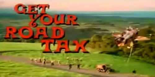 'Road tax' video to turn petrolheads