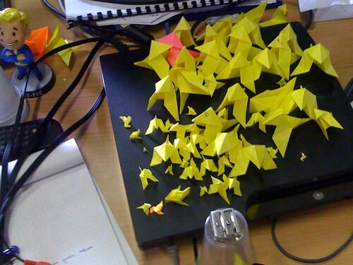 Quantic Dream Origami