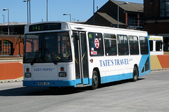 Tate's Travel N328JTL (Howard_Pulling) Tags: uk bus buses barnsley southyorkshire tates barnsleyinterchange route34a tatestravel service34a