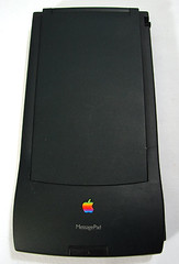 Apple Newton prototype MessagePad 110 clearcase clear case (jimabeles) Tags: apple 110 case clear prototype newton messagepad clearcase