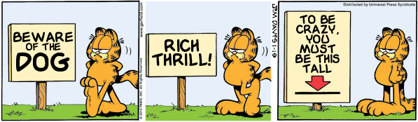 Garfield: Lost in Translation, January 19, 2010