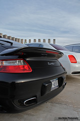 Wide Angle Love <3 (Alex Weber) Tags: new york sunset white black alex car canon neck photography spur flying photo dof photoshoot shot great wheels twin super spot best turbo porsche 7d 28 tt expensive rims ever find supercar fastest bentley weber basalt combo 997 alexweber canon7d