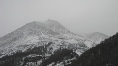 Berge bei Zermatt in den Wolken , Kanton Wallis , Schweiz (chrchr_75) Tags: schnee winter snow mountains alps schweiz switzerland suisse swiss hiver berge neige alpen christoph svizzera wallis valais 0702 suissa kanton chrigu chrchr hurni chrchr75 chriguhurni