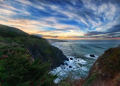Big Sur in the Morning (Stuck in Customs) Tags: world california santa morning travel wild sky panorama usa mountains west color nature water clouds digital america point landscape photography coast blog big high inn nikon dynamic stuck natural pacific hiking united north january scenic hike foliage lucia sur imaging states region range hdr trey ragged travelblog customs 2010 ratcliff stuckincustoms d3x elpasgrandedelsur elsurgrande