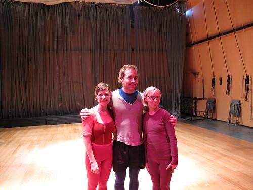 Katerina, Blake, and me