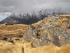 (Nic Temby) Tags: road newzealand mountains building grass rock golden southisland otago queenstown remarkables filmset mountainrange deerparkheights theremarkables shist filminglocation savebeautifulearth remarkablesmountainrange