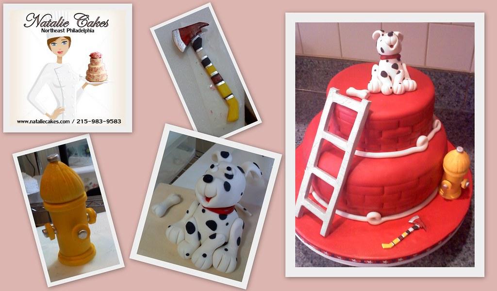 Firehouse Cake Birthday Natalie Cakes Tags Dog Philadelphia