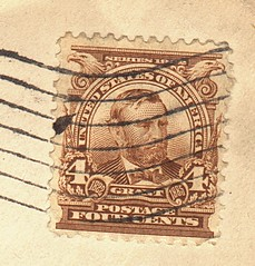 Old Stamp on WW I Cover
