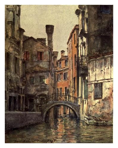 015- El canal Priuli.-Venice – 1904-Dorothy Menpes