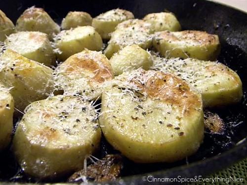 Roasted Lemon Rosemary Potatoes