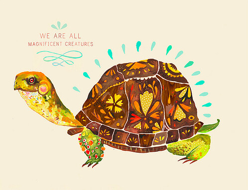 We are all magnificent creatures