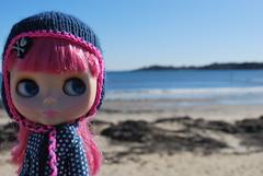 Nanine: okay. that's enough beach. It's still pretty cold out.