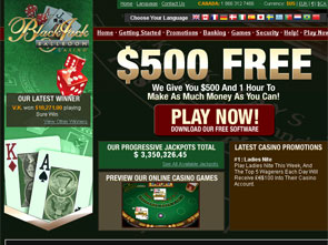 Blackjack Ballroom Casino Home