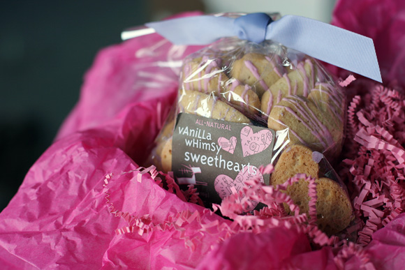 Valentine's Day treats for Smock from Dancing Deer Baking Company