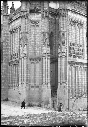 San Juan de los Reyes en 1907. Fotografía de Roy Lucien. Société Française d'Archéologie et Ministère de la Culture (France), Médiathèque de l'architecture et du patrimoine (archives photographiques) diffusion RMN