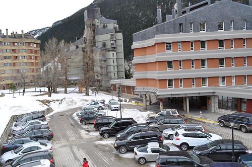 Vista exterior del Hotel Montarto