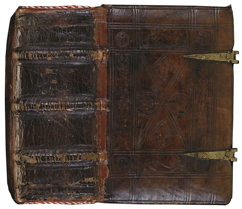 Calf leather + brass (Augustine + Heinrich mss) 1440-1460