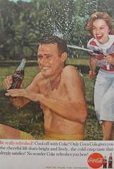 1960 Coca Cola Vintage Advertisement 1960s (Christian Montone) Tags: men vintage women advertisement leisure soda recreation cocacola 1960s 1960