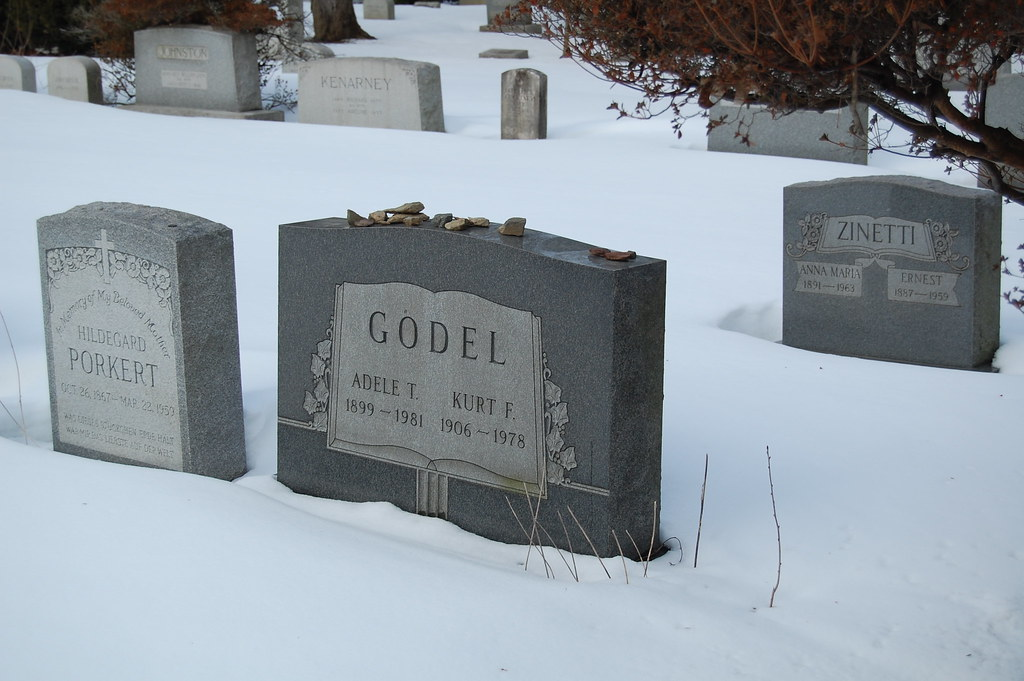 Here rests Kurt Goedel