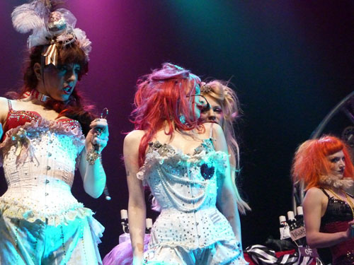 The Bloody Crumpets (Emilie Autumn show Luxembourg)