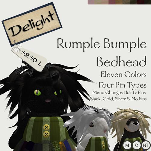 Rumple Bumple Bedhead