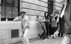 Dancing Dan's Street Show 10/20 (Anthony Cronin) Tags: ireland dublin film analog 35mm nikon kodak 11 ishootfilm ilfordhp5 drugs drunks hp5 nikkor spectators ac apug ilford onlookers nikonf80 xtol streettheatre dubliners 50mmf14d dublinstreet dancingdan ilfordhp5400 dublinstreets allrightsreserved dublinlife streetsofdublin irishphotography onlyinireland lifeindublin kodakxtol pureirish filmisnotdeaditjustsmellsfunny irishstreetphotography y48filter irishstreets dublinstreetphotography streetphotographydublin shuttercrack anthonycronin wwwcfyecom livingindublin insidedublin livinginireland streetphotographyireland dublinjunkies filmdev:recipe=5424 irishcharacters streetjunkies photangoirl