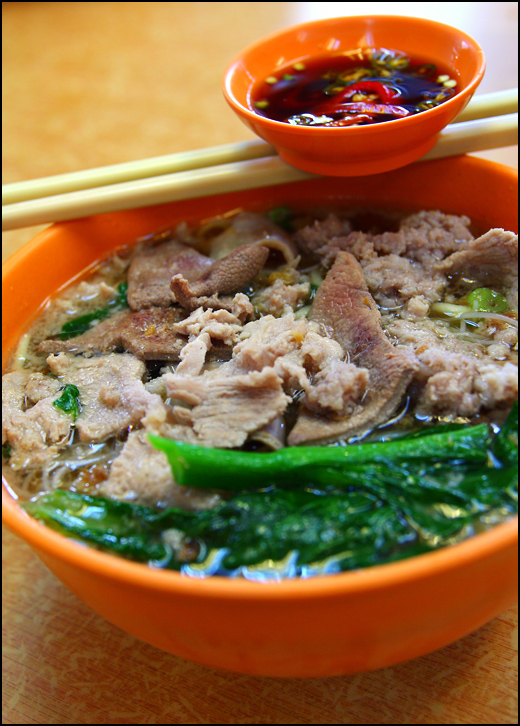 Pork Noodles @ Restoran Pomander, SS15 Subang Jaya