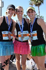 Team Sparkle Completes the Huntington Beach Surf City Marathon