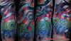 Portfolio_Jake_flag_numbers tattoo by MONK