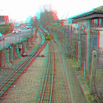 RHDR Diesel John Southland in anaglyph 3D red blue / cyan glasses thumbnail